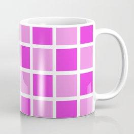 Modern Checkers (pink tiles) Coffee Mug