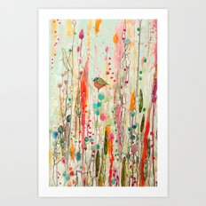 this strange feeling of liberty Art Print