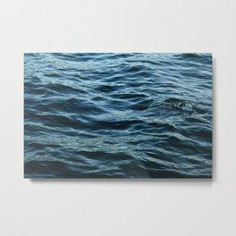 Waves, St Ives 2010 Metal Print