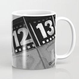 World Clock Berlin BW Coffee Mug
