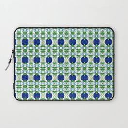 Blue Sapphires - this design goes well with Blue and Green Calm Laptop Sleeve