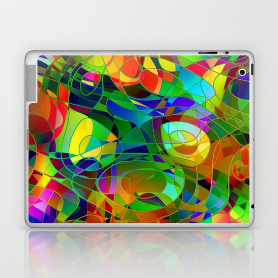 Bouquet Abstract Laptop & iPad Skin