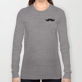 He Moustache Long Sleeve T-shirt