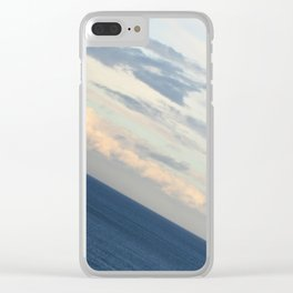 Sea View: The End of the World Clear iPhone Case