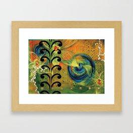 Kelp Forest by Catalina Garreton Framed Art Print