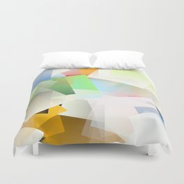 Cubism Abstract 188 Duvet Cover