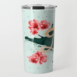 Death Before Deacf in Mint Tea Travel Mug