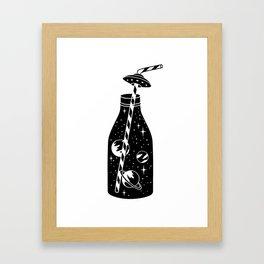 cosmic soda Framed Art Print