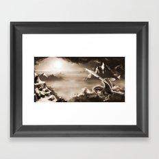 Aloft Framed Art Print