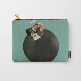 Life on Earth | Collage Carry-All Pouch