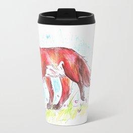 Autumn Fox Travel Mug