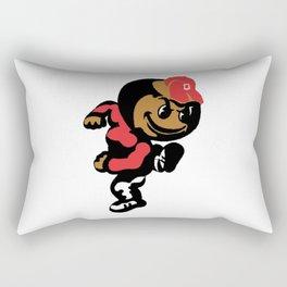 Brutus Buckeye Rectangular Pillow