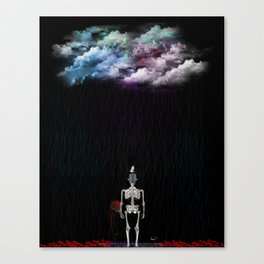My Kind of Clouds Canvas Print