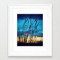 western Framed Art Prints featuring Western Sky by Melanie Ann