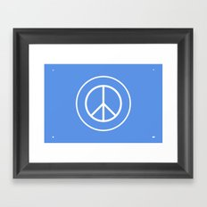 WORLD PEACE Framed Art Print