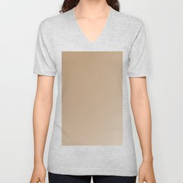 Fabulous iced coffee ombre gradient Unisex V-Neck