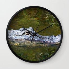 Wild Gator Wall Clock