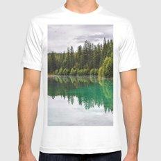 Fifth Lake, Jasper MEDIUM Mens Fitted Tee White