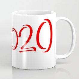 Red 2020 Megaphone Coffee Mug