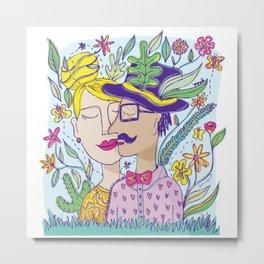 Spring Love Metal Print