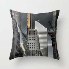 New york / Buildings Throw Pillow