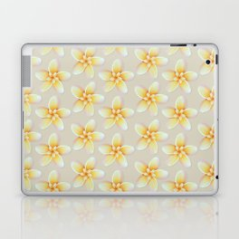 Yellow Flower, Floral Pattern, Yellow Blossom Laptop & iPad Skin