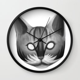 Meaow Wall Clock