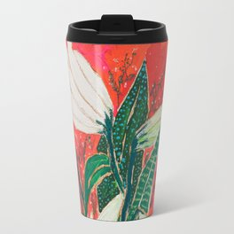 Easter Lily Bouquet Travel Mug
