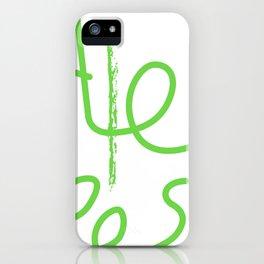 Alex cool tees iPhone Case