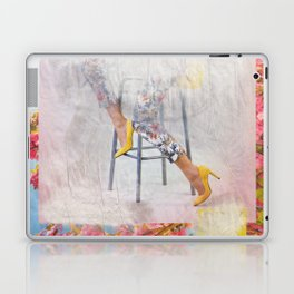 headless model No.03 Laptop & iPad Skin
