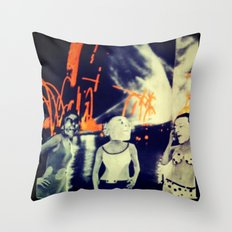 Skags on parade v2.0 Throw Pillow
