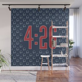 4:26 / The average length of a modern pop song Wall Mural