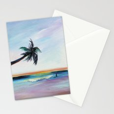 Be Back At Sunset Stationery Cards