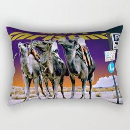 Christmas - Three Wise Men Parking Bay. Rectangular Pillow