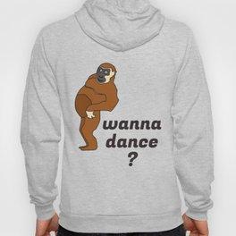 funny monkey art Hoody