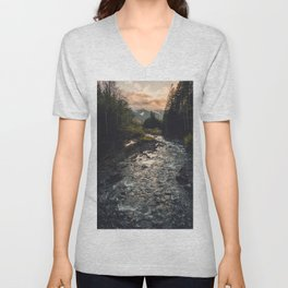 The Sandy River II Unisex V-Neck
