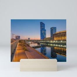 30th Street Reflections No. 2 Mini Art Print