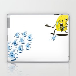 Sponge Attack! Laptop & iPad Skin