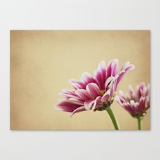 Flowers are the music of the ground Canvas Print