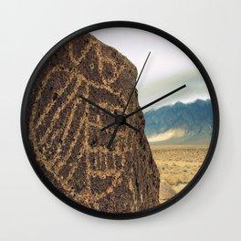 High Desert Petroglyphs Wall Clock