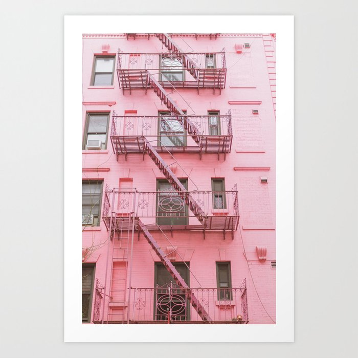 Pink Soho NYC Kunstdrucke