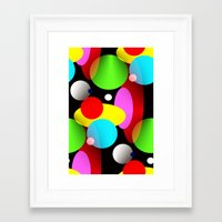 balloons Framed Art Prints featuring Balloons by Artisimo