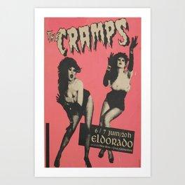 CRAMPS/BAND Art Print