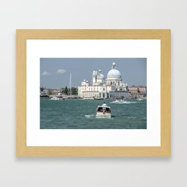 Water Taxis  Framed Art Print