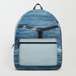 Whale tail - Hamptons Style Backpack