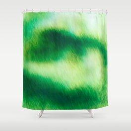 Verdant Clouds Shower Curtain