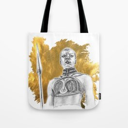 Okoye Warrior Woman #Blackpanther #wakanda Tote Bag