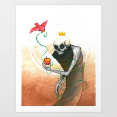 maybe this apple Art Print