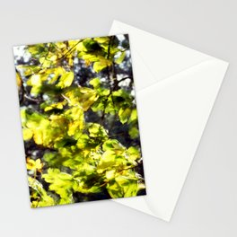 Leaves in the Wind Stationery Cards