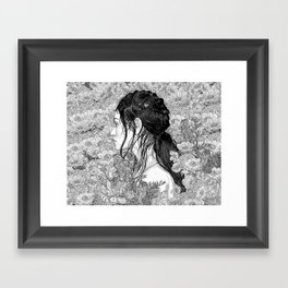 Love is in Beauty and Chaos Framed Art Print